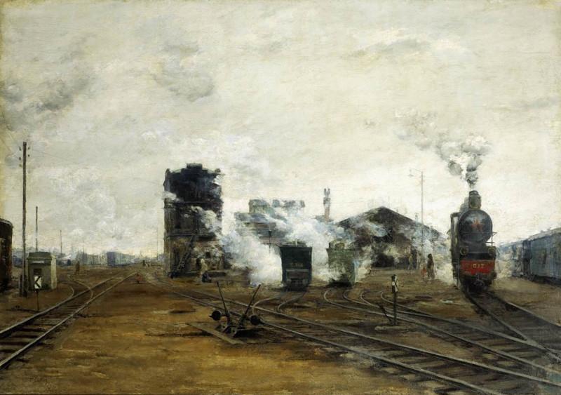 «Транспорт налаживается», 1923. Борис Яковлев (1890—1972)