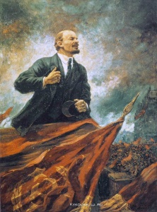 Герасимов Александр Михайлович (1881-1963) «В. И. Ленин на трибуне»