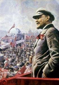 Бродский Исаак Израилевич (1884–1939) «В. И. Ленин на трибуне 1 мая 1920 года»