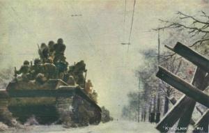 Нисский Георгий Григорьевич (Россия, 1903-1987) «На защиту Москвы. Ленинградское шоссе»