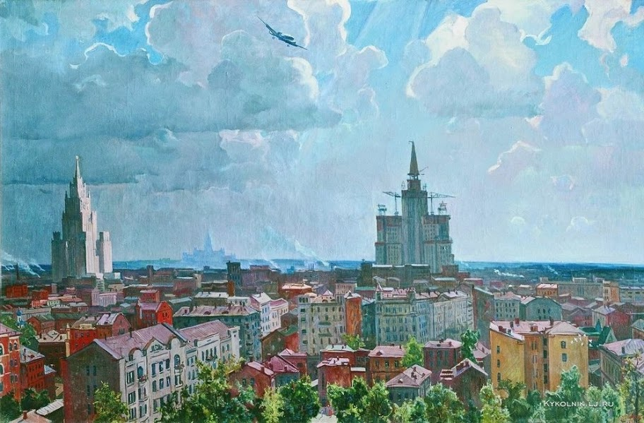 Дейнека Александр Александрович (1899-1969) «Москва» 1952