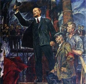 Филатов Константин Владимирович (1926-2006) «В.И.Ленин». 1969-1970