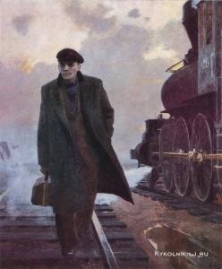Левитин Анатолий Павлович (Россия,) «Октябрьские дни». 1982