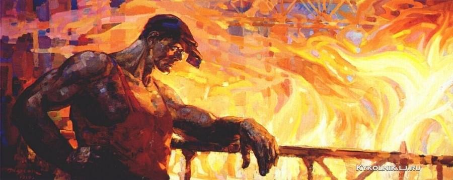 Неясов Василий Андреевич (1926-1984) «Парень с Урала» 1959