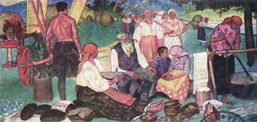 Прохоров Семён Маркович (1873-1948) «Коммуна» 1927