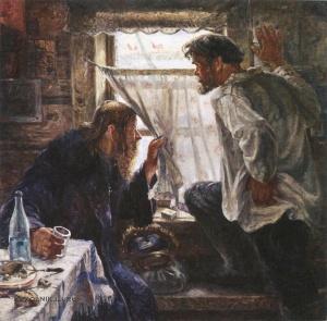 Терпсихоров Николай Борисович (1890-1960) «Враги коллективизации» 1931