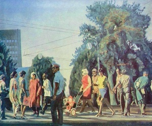 Абдурашитов Рашид Халилович (Таджикистан, 1935-2008) «Пост имени Шорохова» 1977
