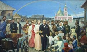 Свадьба В.И.Ленина и Н.К.Крупской. Т.А. Горшунова