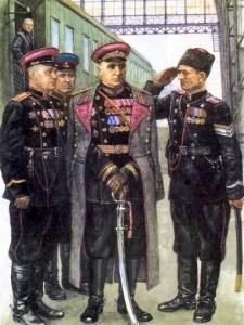 Начальник ГУО МГБ СССР генерал-полковник С.А. Гоглидзе