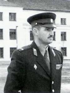 Командир 56-го стрелкового полка. Мурманск, 1956 г.