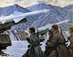 Народицкий (Народницкий) Лев Иосифович (Россия, 1913-1977) «Тревога» 1975