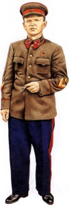 Генерал-майор Пехота 1941. Униформа сухопутных войск РККА во Второй мировой