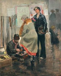 Иван Владимиров. Галантный кавалер, 1923