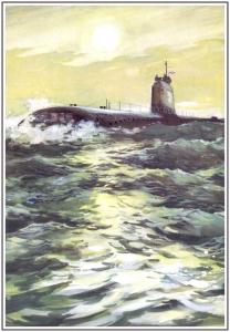 А.И. Бабановский. Атомная подводная лодка