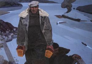 Михайлов Алексей Сергеевич (1926-1993) «Белые ночи» 1966-1967