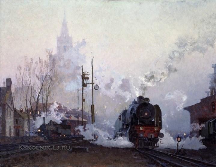 Кузнецов Николай Дмитриевич (1923-1974) «В пути» 1974