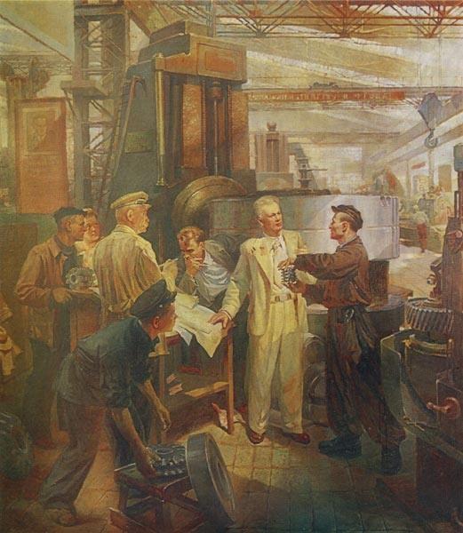 Б.К.Смирнов. Творческое содружество, 1948