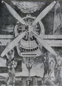 Якушин Анатолий Борисович (Россия, 1944) «Сахалин. Перед ночным вылетом» 1973