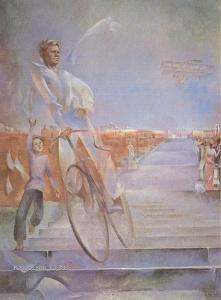 Резвая Татьяна Федоровна (Россия, 1943) «Земные старты Уточкина»