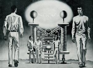 Гевондян Рубен Саркисович (Армения, 1942) «Эксперимент» 1971
