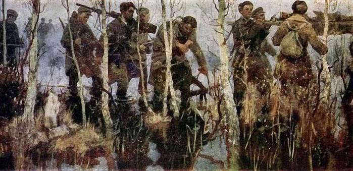 В.М. Петров-Маслаков Партизаны. 1959-60 гг.