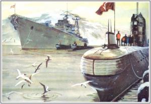 А.И. Бабановский. Дизельные подводные лодки в базе