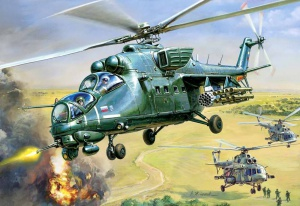 Вертолет Ми-35 (Андрей Жирнов)