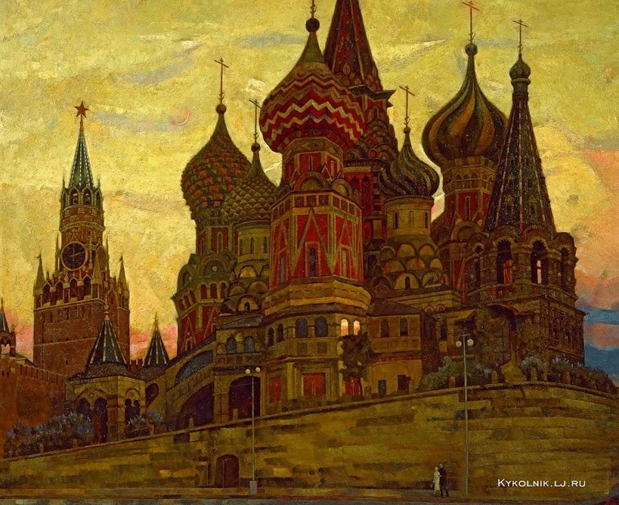 Горский Андрей Петрович. «Москва. Светает» 1987