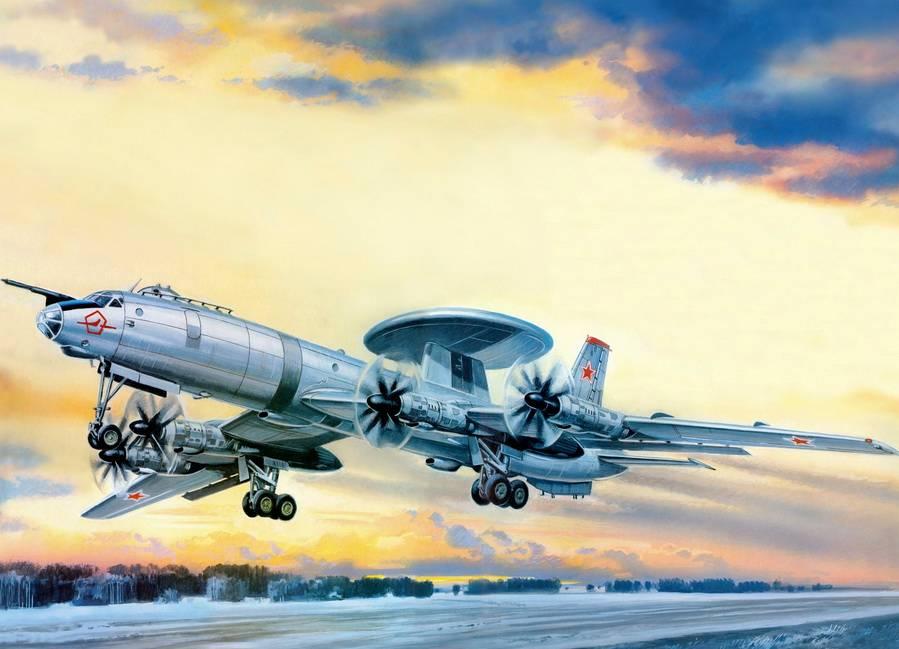 Валерий Руденко. Самолёт радиолокационного обнаружения целей Ту-126