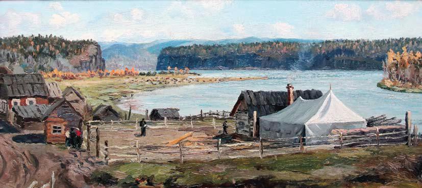 Гвоздев С., Здесь будет Братское море, 1955 год