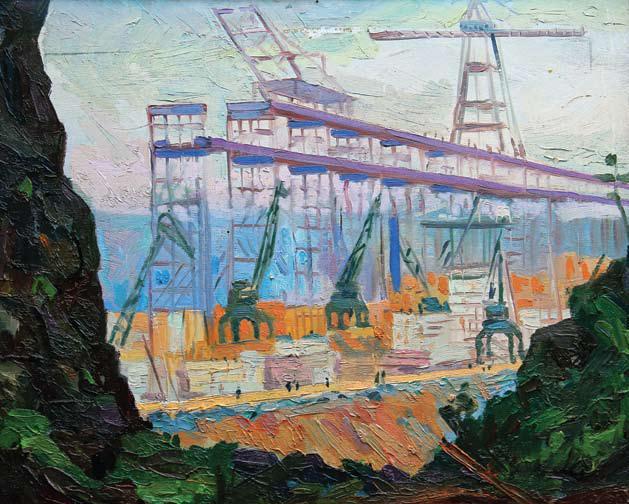 Прокопенко Н. В., Большая Эстакада, 1956 год