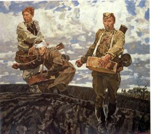 Возрождение (Сеятели). М. И. Самсонов. 1980