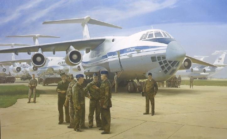 Штрикман Леонид Львович (Россия, 1968) «Военно-транспортная авиация. Доставить точно и в срок»