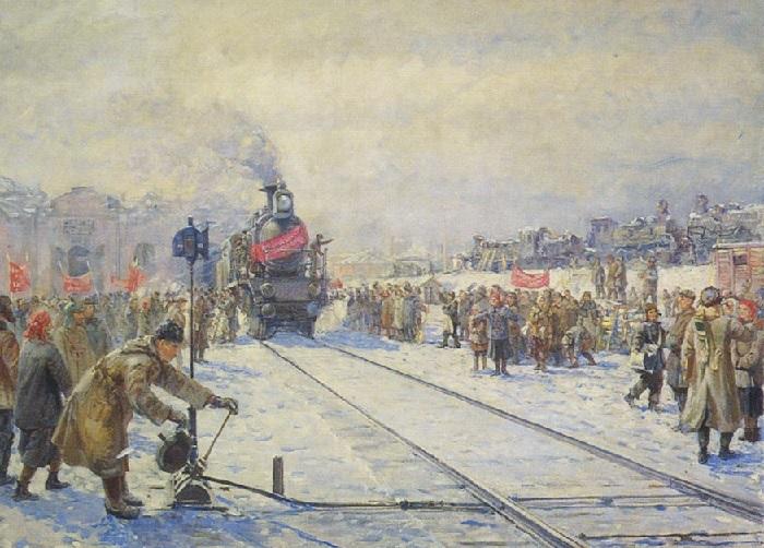Терпсихоров Николай Борисович, «Конец разрухи на транспорте»