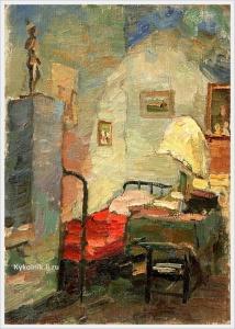 Гиппиус Наталия Александровна (Россия, 1905–1994) «Интерьер» 1930-е
