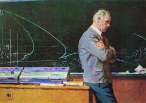 Самусев Федор Афанасьевич (1913-1985) «Раздумья, поиски» 1969