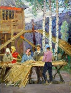 Васильев Андрей (?) «Молодежная стройка» 1961