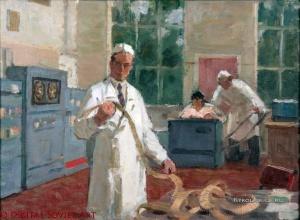 Вощинин Алексей Николаевич (1929-2007) «В кабинете» 1970-е