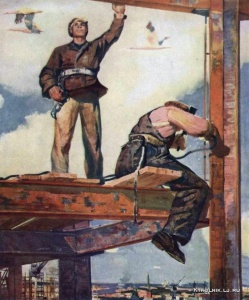 Зариньш Индулис Августович (Латвия, 1929-1998) «Какая высота»