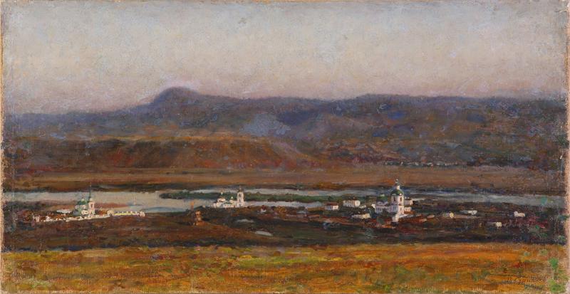В.И. Суриков. Старый Красноярск. 1914