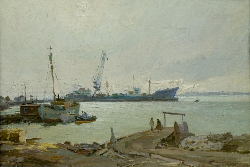 Порт Диксон. Б.М. Витомский.