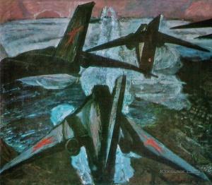 Кормашов Николай Иванович (1929-2012) «Тревога» 1964