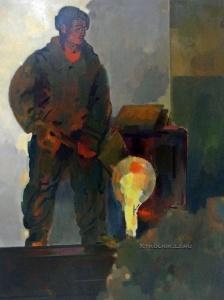 Никритин Соломон Борисович (1898-1965) «Литейщик» 1950