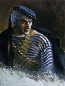 Богородский Федор Семенович (1895–1959) «Раненый матрос» 1934