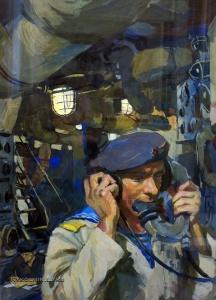 Лемешев Владимир Николаевич (1932-2012) «Боевая часть № 5» 1972