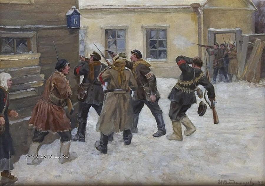 Владимиров Иван Алексеевич (1869-1947) «Городская милиция»