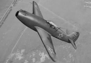 Истребитель «Як-15»