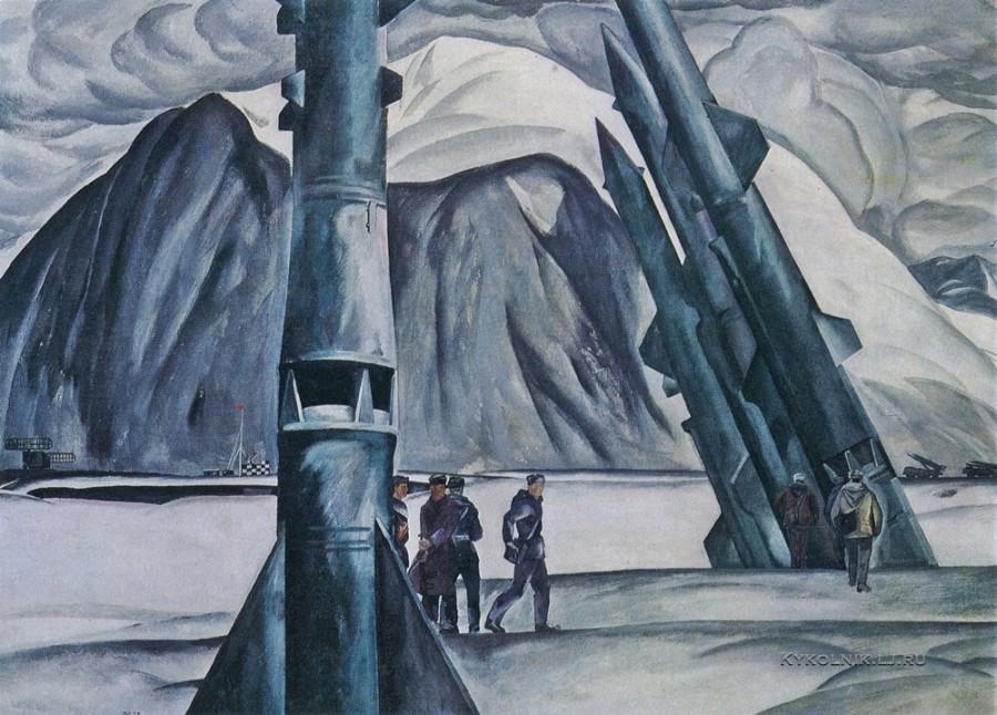 Походаев Юрий Архипович (Россия, 1927) «На Севере дальнем» 1973
