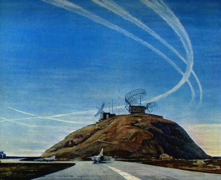 С. Авикемян. Защитники мирного неба. 1982