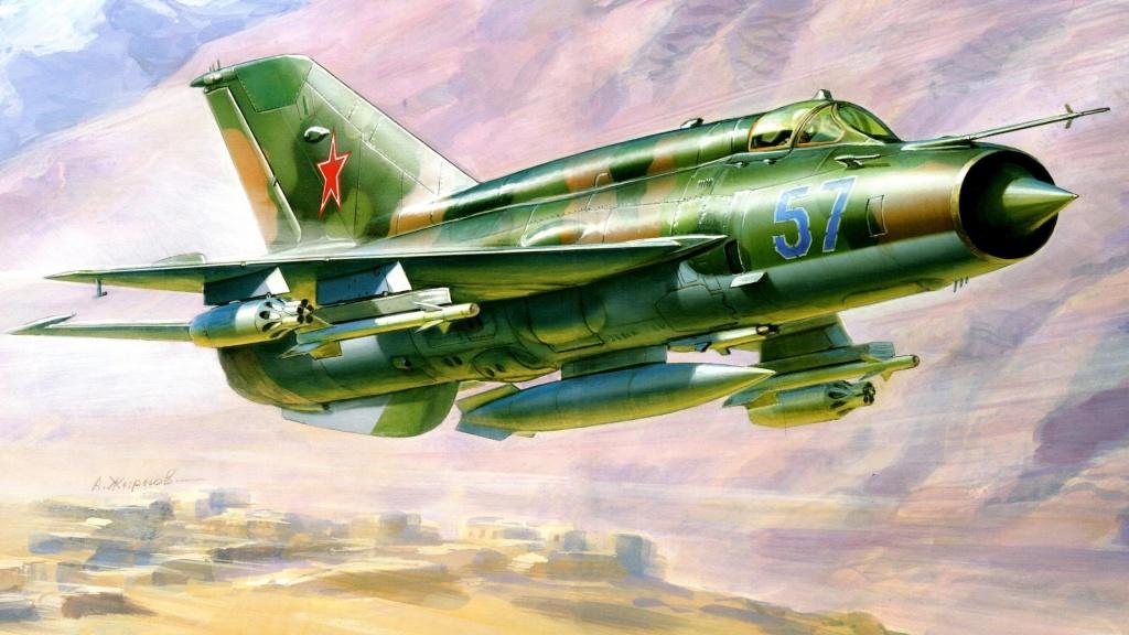 МиГ-21. А. Жирнов